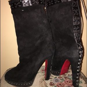 check out c9f1c dd8aa Christian Louboutin Winter & Rain Boots for Women | Poshmark
